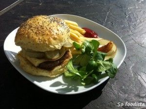 Buns à burger (4)