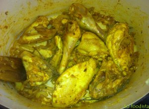 Carry poulet et pommes de terre (6)