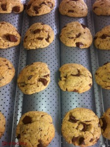 Cookies beurre de cacahuète et chocolat noir (5)