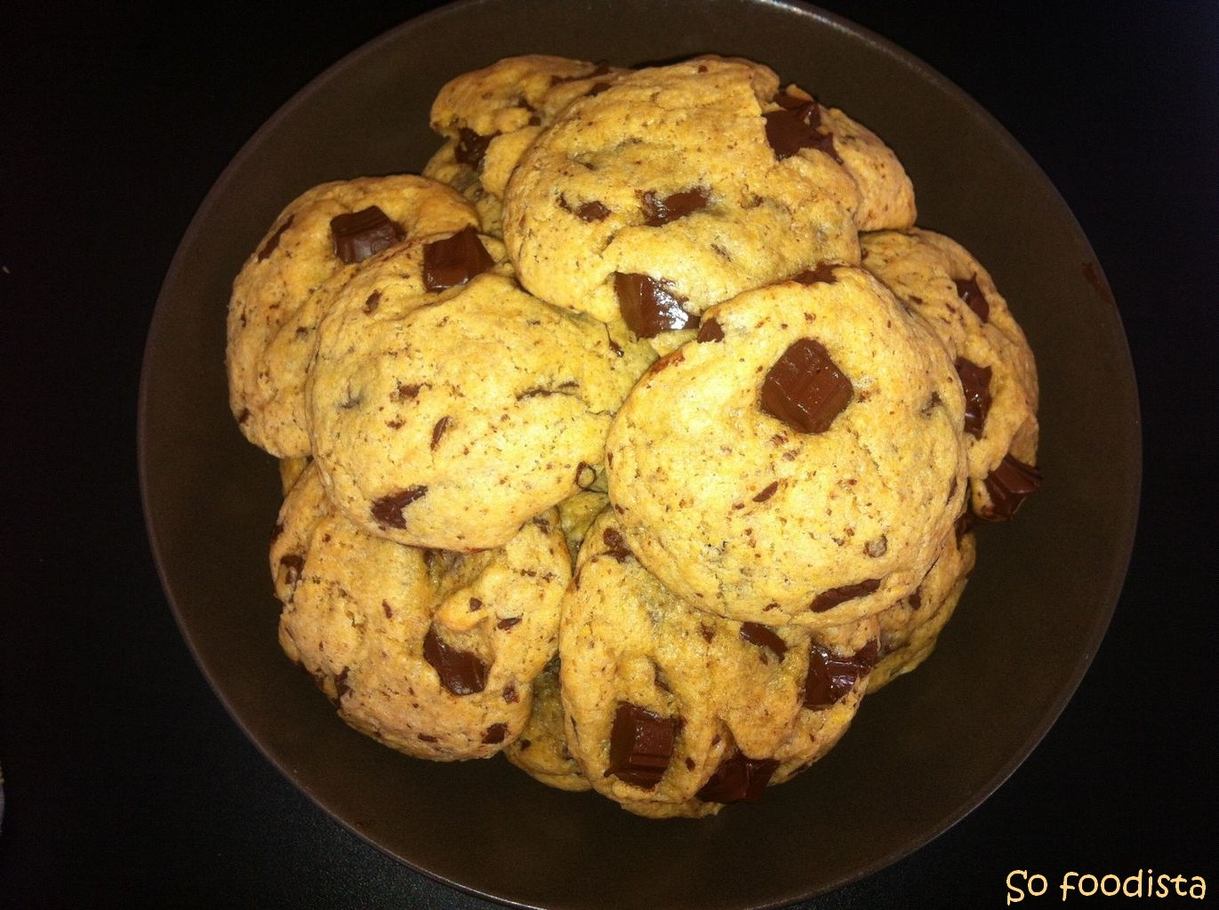 cookies au beurre de cacahu te et chocolat so foodista. Black Bedroom Furniture Sets. Home Design Ideas