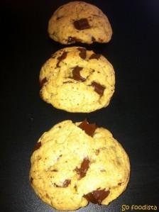 Cookies beurre de cacahuète et chocolat noir (8)
