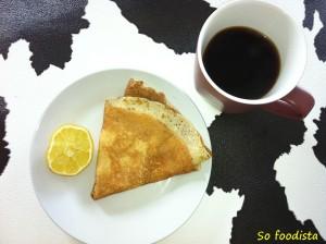 Crêpe sucre-citron