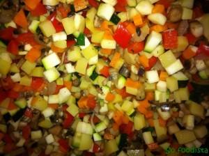 Mini tortillas légumes et champignons (10)