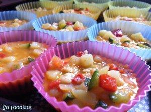 Mini tortillas légumes et champignons (24)