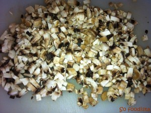 Mini tortillas légumes et champignons (6)