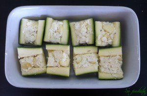 Courgettes farcies (2)