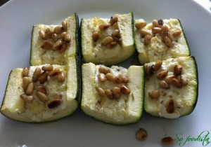 Courgettes farcies (3)