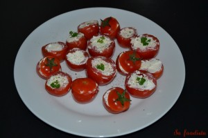 Tomates cocktail farcies au Boursin (2)