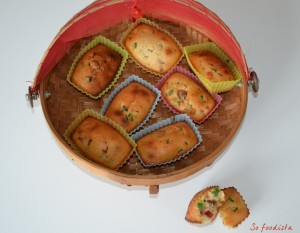 Financiers aux fruits confits (1)
