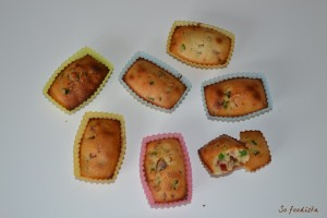 Financiers aux fruits confits (3)