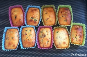 Financiers aux fruits confits (7)