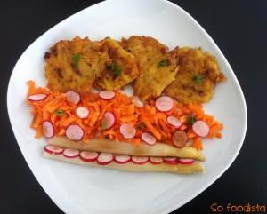 Galettes de pommes de terre, chorizo et brie (3)