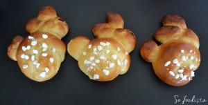 Lapins de Pâques briochés (1)