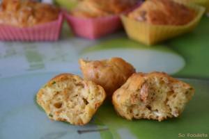 Mini cakes tomates séchées, chèvre et ciboulette (2)