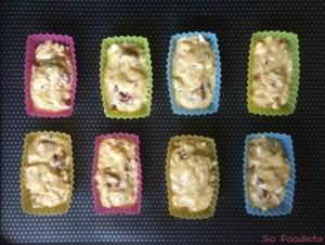 Mini cakes tomates séchées, chèvre et ciboulette (6)