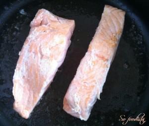 Quiche aux deux saumons, poireaux, chèvre (10)