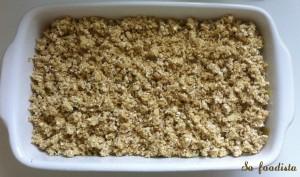 Crumble de poireaux à la cancoillotte et aux flocons d'avoine (1)