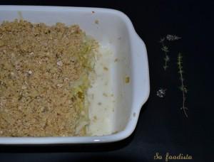 Crumble de poireaux à la cancoillotte et aux flocons d'avoine (2)