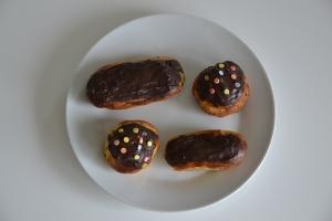 Eclairs au chocolat (2)