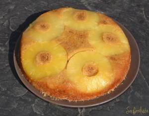 Gâteau renversé ananas coco (3)