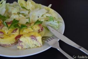 Oeufs au lard et pecorino (1)