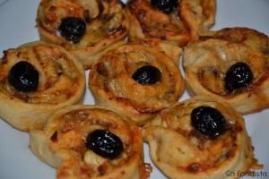 Pizza roulée aux anchois et aux coeurs d'artichauts (3)