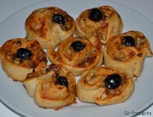Pizza roulée aux anchois et aux coeurs d'artichauts (4)