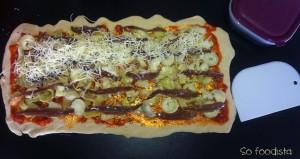 Pizza roulée aux anchois et aux coeurs d'artichauts (5)