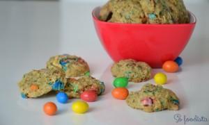 Cookies aux M&M's (3)