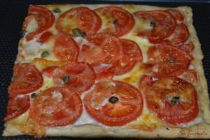Tarte fine tomates mozza basilic (1)