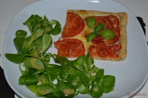 Tarte fine tomates mozza basilic (2)