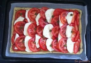 Tarte fine tomates mozza basilic (5)