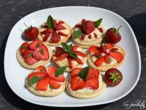 Tartelettes fraises et menthe (2)