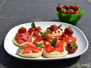 Tartelettes fraises et menthe (3)
