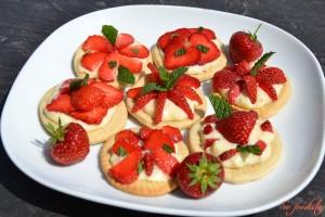 Tartelettes fraises et menthe (4)