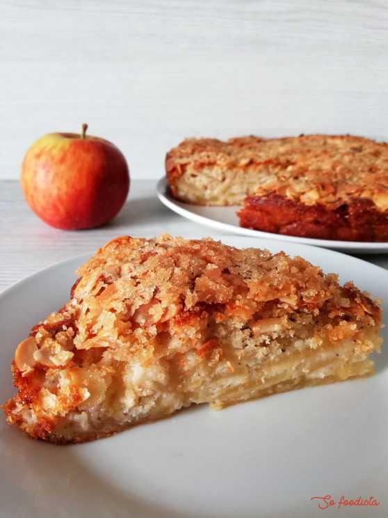 gâteau bernadette aux pommes