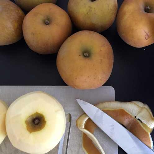 Pommes grises du Canada