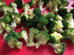 Gratin de pâtes brocolis et parmesan (1)