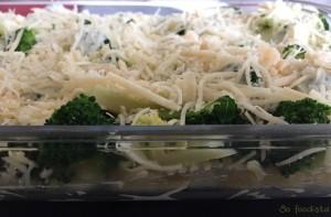 Gratin de pâtes brocolis et parmesan (5)