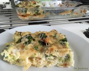 Gratin de pâtes brocolis et parmesan (8)