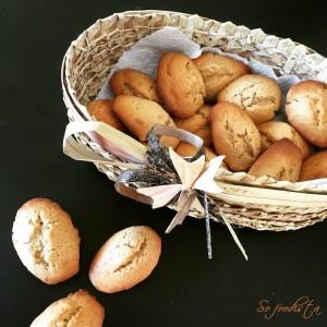 Madeleines au beurre de cacahuètes (1)