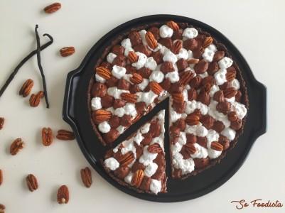 Tarte chocolat, vanille et noix de Pécan (1)