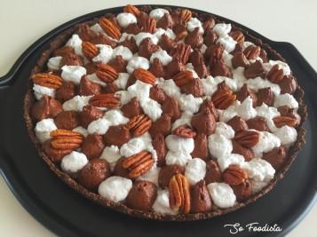 Tarte chocolat, vanille et noix de Pécan (6)