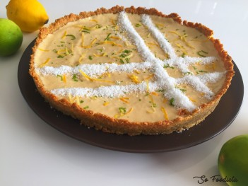 tarte coco citron low carb (4)