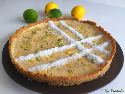 tarte coco citron low carb (6)