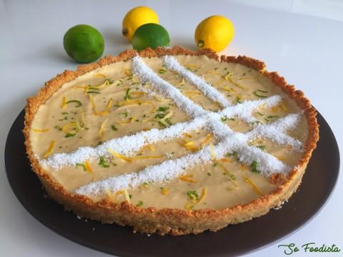 tarte coco citron low carb (6)