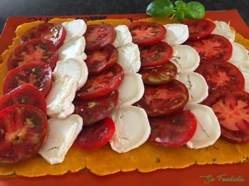 Tarte fine tomates et chèvre (11)