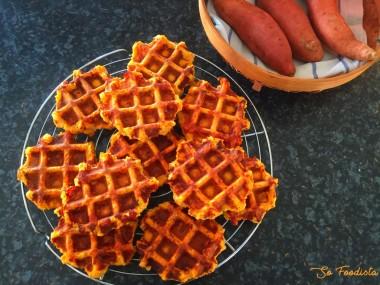 Gaufres de patates douces (6)
