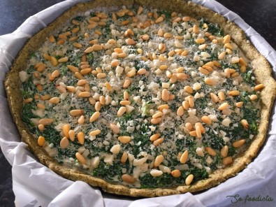Tarte gorgonzola et épinards (2)