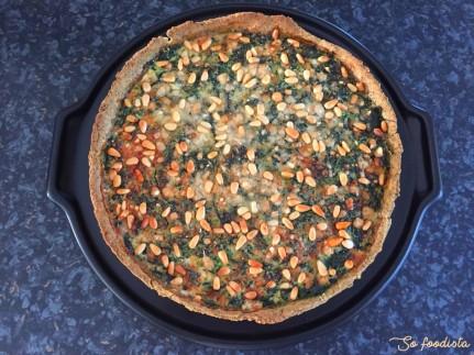 Tarte gorgonzola et épinards (3)